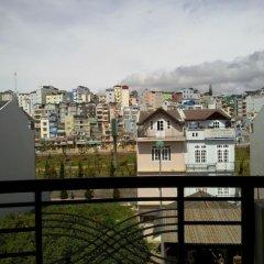 Отель Paris Hotel Вьетнам, Далат - отзывы, цены и фото номеров - забронировать отель Paris Hotel онлайн балкон