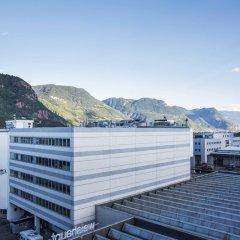 Отель Four Points by Sheraton Bolzano Больцано приотельная территория