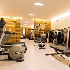 Отель Park Gstaad Швейцария, Гштад - отзывы, цены и фото номеров - забронировать отель Park Gstaad онлайн фитнесс-зал фото 2