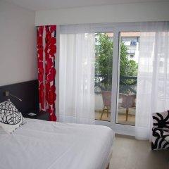 Отель Serge Blanco Thalasso & Spa Франция, Хендее - отзывы, цены и фото номеров - забронировать отель Serge Blanco Thalasso & Spa онлайн комната для гостей фото 4