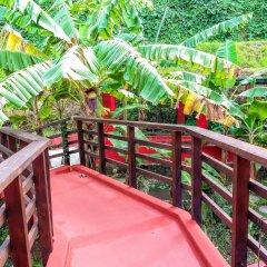 Отель Sunset Hill Lodge Французская Полинезия, Бора-Бора - отзывы, цены и фото номеров - забронировать отель Sunset Hill Lodge онлайн балкон