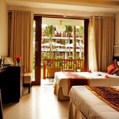 Отель Vinh Hung Emerald Resort Хойан комната для гостей