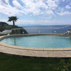 Отель CapoSperone Resort Пальми бассейн