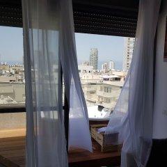 Luxury Apartment in Tel Aviv Израиль, Тель-Авив - отзывы, цены и фото номеров - забронировать отель Luxury Apartment in Tel Aviv онлайн балкон