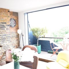 Отель 2 Bedroom Rooftop Flat In Central London балкон