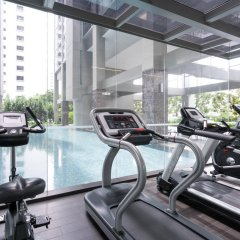 Отель V Lavender Сингапур фитнесс-зал фото 3
