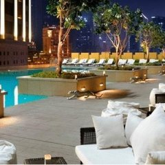 Отель Address Dubai Mall Residences Дубай бассейн