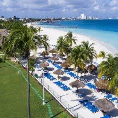 Отель Beachscape Kin Ha Villas & Suites Мексика, Канкун - 2 отзыва об отеле, цены и фото номеров - забронировать отель Beachscape Kin Ha Villas & Suites онлайн пляж