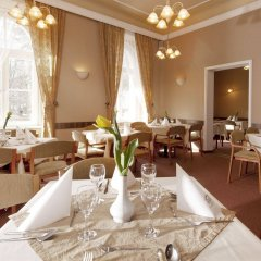 Отель Metropol Чехия, Франтишкови-Лазне - отзывы, цены и фото номеров - забронировать отель Metropol онлайн питание фото 3