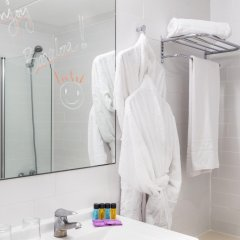 Отель Oriente Atiram Hotel Испания, Барселона - 2 отзыва об отеле, цены и фото номеров - забронировать отель Oriente Atiram Hotel онлайн ванная
