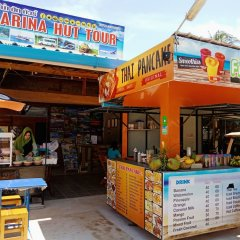 Отель Marina Hut Guest House - Klong Nin Beach питание фото 2