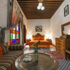 Отель Riad dar Chrifa Марокко, Фес - отзывы, цены и фото номеров - забронировать отель Riad dar Chrifa онлайн интерьер отеля фото 2