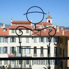 Отель Palais Hongran de Fiana Франция, Ницца - отзывы, цены и фото номеров - забронировать отель Palais Hongran de Fiana онлайн балкон