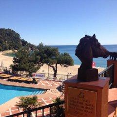 Отель Rigat Park & Spa Hotel Испания, Льорет-де-Мар - отзывы, цены и фото номеров - забронировать отель Rigat Park & Spa Hotel онлайн балкон