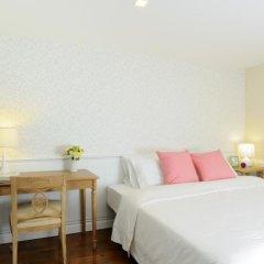 Отель Sabai Sathorn Serviced Apartment Таиланд, Бангкок - отзывы, цены и фото номеров - забронировать отель Sabai Sathorn Serviced Apartment онлайн комната для гостей фото 4
