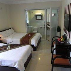 Отель DMZ Hotel Вьетнам, Хюэ - отзывы, цены и фото номеров - забронировать отель DMZ Hotel онлайн комната для гостей фото 3