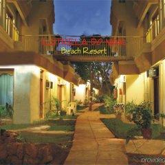 Отель Estrela Do Mar Beach Resort Гоа вид на фасад