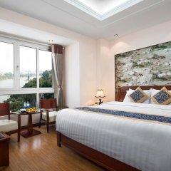 Отель Lakeside Palace Hotel Вьетнам, Ханой - отзывы, цены и фото номеров - забронировать отель Lakeside Palace Hotel онлайн комната для гостей фото 4