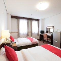 Отель OYO Hotel Toyama Joshi Koen Япония, Тояма - отзывы, цены и фото номеров - забронировать отель OYO Hotel Toyama Joshi Koen онлайн комната для гостей фото 2