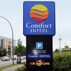 Comfort Hotel Lichtenberg парковка
