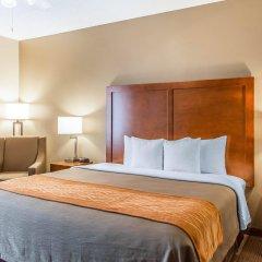 Отель Comfort Inn North/Polaris США, Колумбус - отзывы, цены и фото номеров - забронировать отель Comfort Inn North/Polaris онлайн комната для гостей фото 3