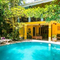 Отель Thambapanni Retreat Унаватуна бассейн