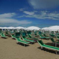 Hotel Villa Linda Риччоне пляж