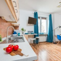 Апартаменты P&O Apartments Waszyngtona Варшава комната для гостей фото 3