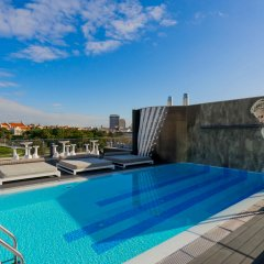 Отель Hf Fenix Music Лиссабон бассейн фото 3