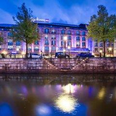 Отель Radisson Blu Scandinavia Hotel Швеция, Гётеборг - отзывы, цены и фото номеров - забронировать отель Radisson Blu Scandinavia Hotel онлайн приотельная территория фото 2
