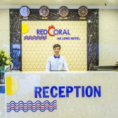 Red Coral Ha Long Hotel интерьер отеля