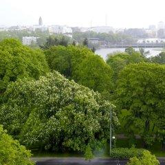 Отель Scandic Park Хельсинки приотельная территория