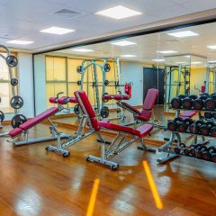 Отель Occidential Dubai Production City фитнесс-зал фото 2