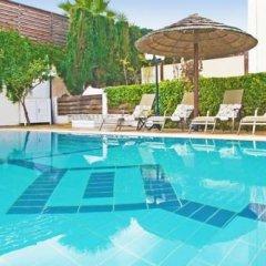 Отель Villa Amalia Кипр, Протарас - отзывы, цены и фото номеров - забронировать отель Villa Amalia онлайн бассейн фото 2