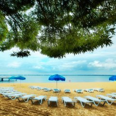 Гостиница Березка пляж