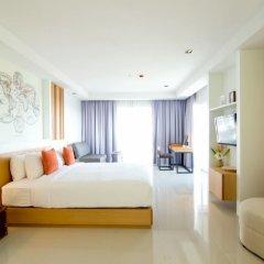 Отель Welcome World Beach Resort & Spa Таиланд, Паттайя - отзывы, цены и фото номеров - забронировать отель Welcome World Beach Resort & Spa онлайн комната для гостей фото 9