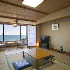 Отель Kyukamura Nanki-katsuura Начикатсуура комната для гостей