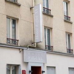 Отель Hôtel Eiffel XV Франция, Париж - отзывы, цены и фото номеров - забронировать отель Hôtel Eiffel XV онлайн вид на фасад фото 2