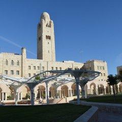 YMCA Three Arches Hotel Израиль, Иерусалим - 2 отзыва об отеле, цены и фото номеров - забронировать отель YMCA Three Arches Hotel онлайн приотельная территория