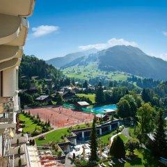 Отель Gstaad Palace Швейцария, Гштад - отзывы, цены и фото номеров - забронировать отель Gstaad Palace онлайн балкон