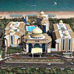 Отель Kirman Belazur Resort And Spa Богазкент пляж фото 2