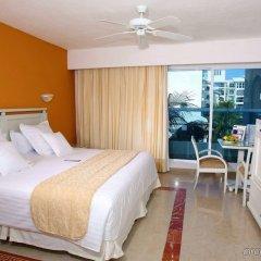 Отель Occidental Costa Cancún All Inclusive Мексика, Канкун - 12 отзывов об отеле, цены и фото номеров - забронировать отель Occidental Costa Cancún All Inclusive онлайн комната для гостей фото 4