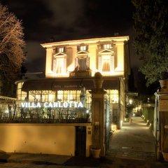 Отель Villa Carlotta Флоренция вид на фасад
