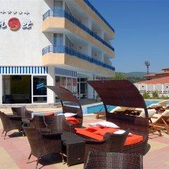 Отель Sunset Hotel Sunny Beach Болгария, Солнечный берег - отзывы, цены и фото номеров - забронировать отель Sunset Hotel Sunny Beach онлайн бассейн фото 2