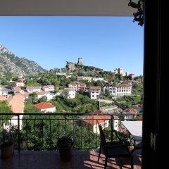 Отель Panorama Kruje Албания, Kruje - отзывы, цены и фото номеров - забронировать отель Panorama Kruje онлайн балкон фото 2