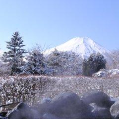 Hotel Mt. Fuji Яманакако приотельная территория