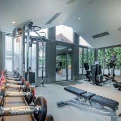 Отель M Social Singapore фитнесс-зал фото 4