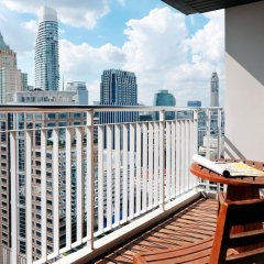 Отель Urbana Langsuan Bangkok, Thailand Таиланд, Бангкок - 1 отзыв об отеле, цены и фото номеров - забронировать отель Urbana Langsuan Bangkok, Thailand онлайн балкон