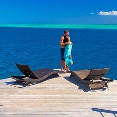 Отель Manava Beach Resort and Spa Moorea Французская Полинезия, Папеэте - отзывы, цены и фото номеров - забронировать отель Manava Beach Resort and Spa Moorea онлайн фитнесс-зал фото 2