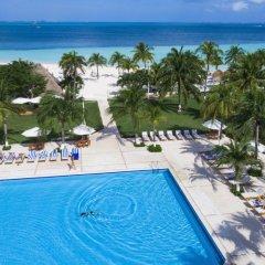 Отель Beachscape Kin Ha Villas & Suites Мексика, Канкун - 2 отзыва об отеле, цены и фото номеров - забронировать отель Beachscape Kin Ha Villas & Suites онлайн бассейн фото 3